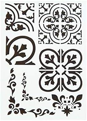 Vintage pochoirs motifswoodley and@todorazor.com