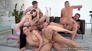Amateur orgie indeprivé de la @todorazor.com